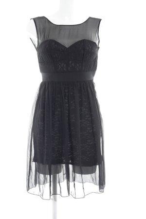 A-Linien Kleid schwarz Casual-Look