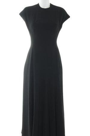 Vestido línea A negro elegante