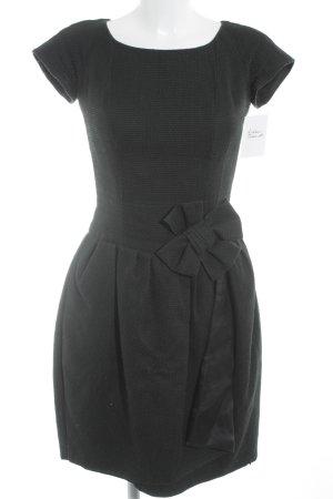 A-Linien Kleid schwarz schlichter Stil