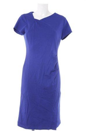 A-Linien Kleid stahlblau klassischer Stil