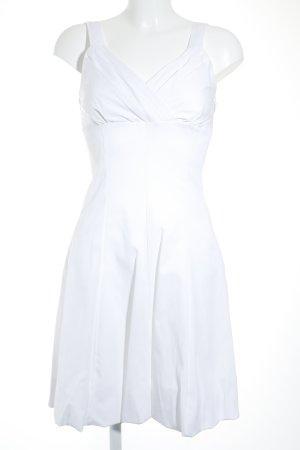 A-Linien Kleid weiß Elegant