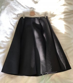 Storets Falda midi negro