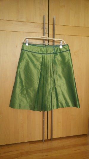 Falda de tafetán multicolor