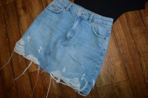 A-Linien-Rock blue denim 36 Neu Topshop