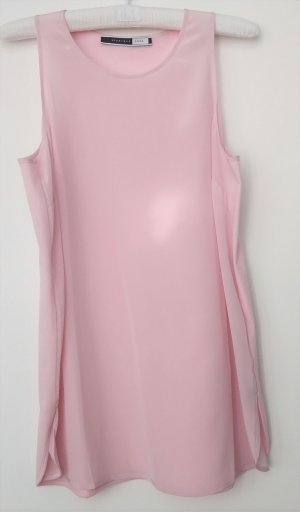 A-Linien Top rosa, schlichter Stil