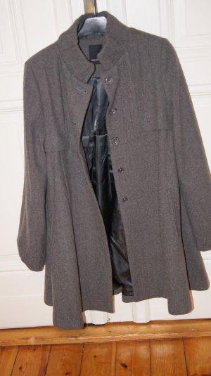 A-Linienförmiger Mantel, Jacke, Cape von Vero Moda, grau