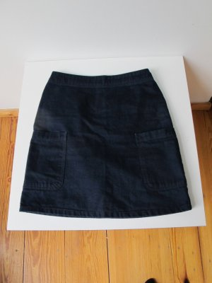 A.P.C. Denim Skirt dark blue