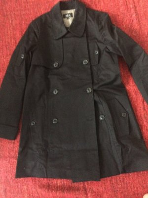 A.P.C. Pea Jacket black