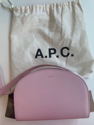 A.P.C. Crossbody bag pink leather