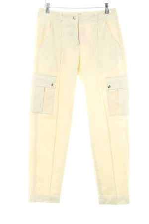 A.P.C. Houlihans pale yellow casual look