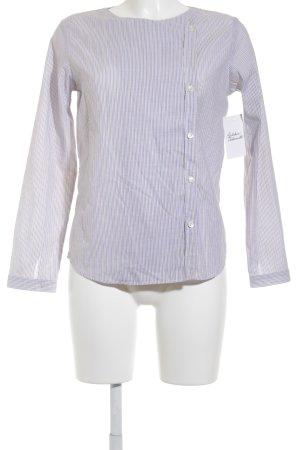 A.P.C. Langarm-Bluse Streifenmuster Street-Fashion-Look