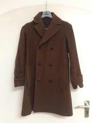 A.P.C. Manteau en laine brun