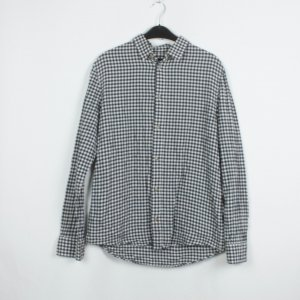 A.P.C. Shirt Blouse white-dark blue cotton