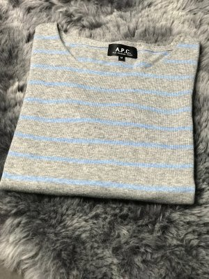 A.P.C. Short Sleeve Sweater multicolored cotton