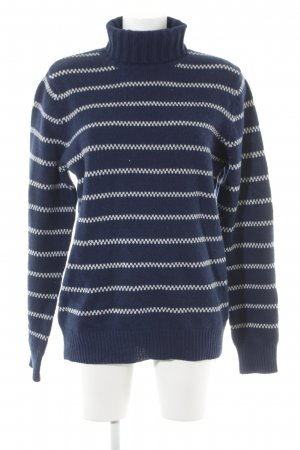 A.P.C. Coltrui donkerblauw-wolwit gestreept patroon casual uitstraling