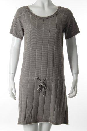 A.P.C. Shirtkleid schwarz-weiß Streifenmuster Casual-Look