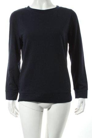 A.P.C. Sweatshirt dunkelblau Casual-Look