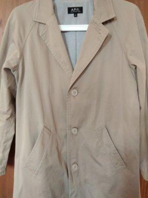 A.P.C. Trenchcoat beige coton
