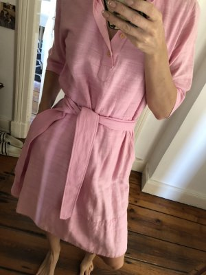 A.P.C. Shirtwaist dress pink cotton