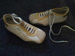Art Sneakers cream