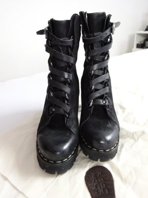 A.S 98 Airstep Boots Used Look black 40 neu