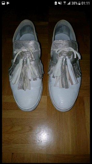a.s.98 airstep Schuhe Slipper Sneaker beige silber