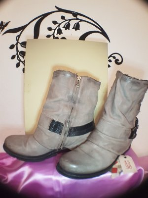 A.S.98 Ankle Boots light grey-grey leather