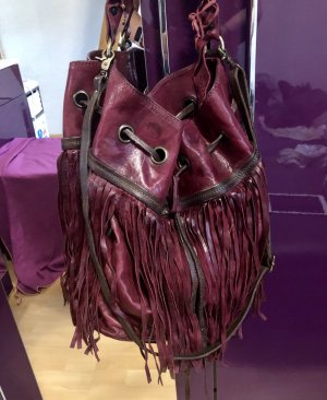 A.S. 98 bucket bag shopper neuwertig bordeaux