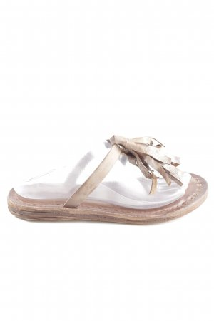 A.S.98 Flip Flop Sandalen bronzefarben Casual-Look