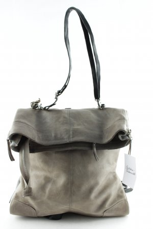 A.S.98 School Backpack grey brown street-fashion look