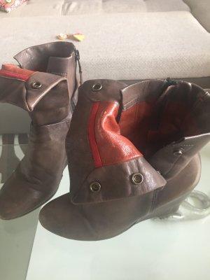 A.S. Boots koll 2017 gr 38 Taupe Leder npr 389
