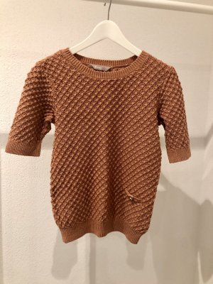 Awear Short Sleeve Sweater dark orange