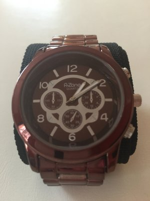 A-Zone Armbanduhr Metallic