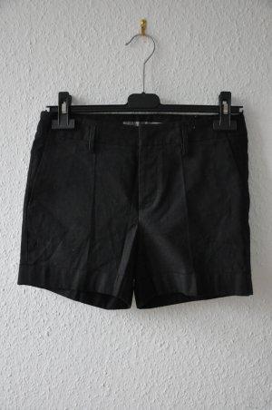 Neue Zara Basic Shorts, schwarz Größe S