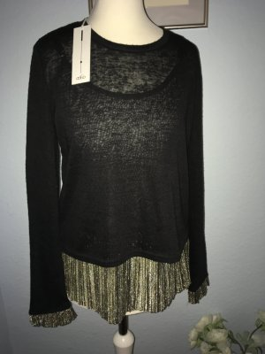 Aaiko Knitted Top gold-colored-black