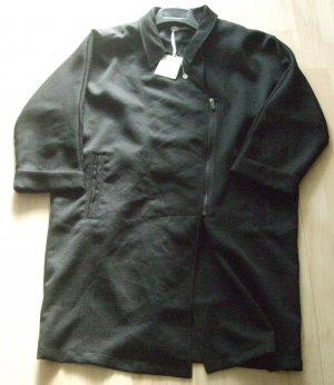 AAIKO Casual Mantel schwarz - Größe: L