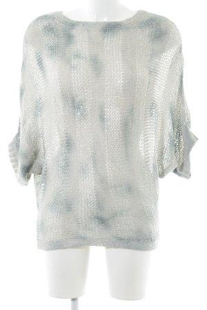 Aaiko Pullover a maglia grossa grigio chiaro-grigio stile casual