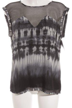 Aaiko Muscleshirt batik patroon straat-mode uitstraling