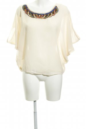 Aaiko Blouse oversized crème style extravagant