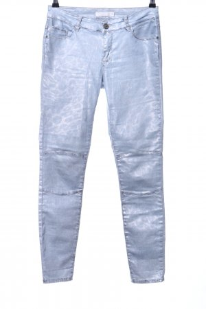 Aaiko Jeans skinny blu stampa integrale stile casual