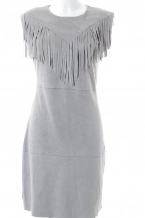 Aako Sheath Dress light grey Boho look