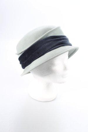 AB Design Filzhut türkis-blau klassischer Stil