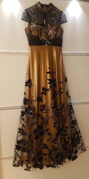San Fiore Ball Dress black-gold-colored