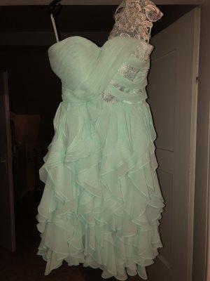 One Shoulder Dress mint