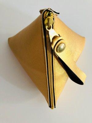 Mini Bag gold-colored imitation leather