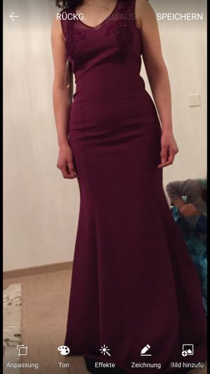 100 Evening Dress purple