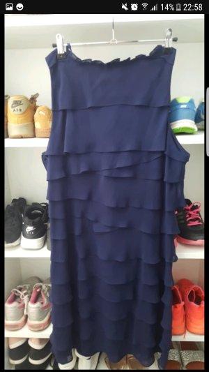 100% Fashion Evening Dress dark blue