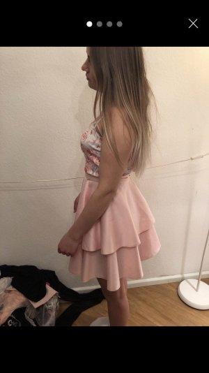 Agnes Vestido de noche rosa claro