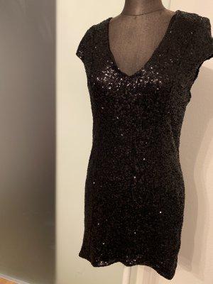 Abend Party Kleid Gr 40 42 XL von Glamorous mit Pailletten Neu mit Etikett