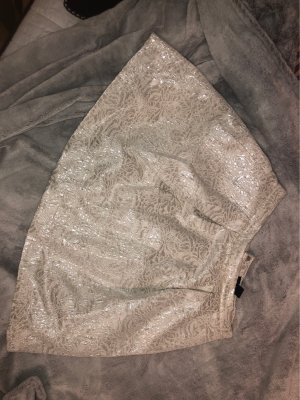 H&M Gonna a palloncino bianco sporco-argento